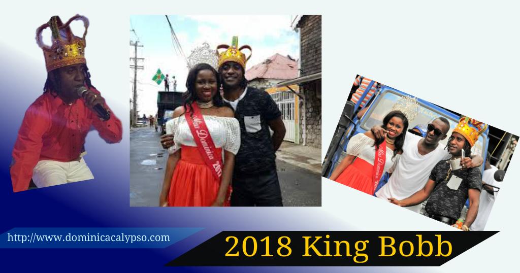 Carnival King 2018 De Bobb in waiting